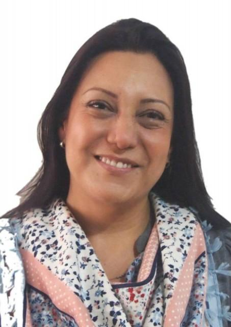 Our software outsourcing team's own Director of Outstanding People & Talent Resourcing, Carolina Contreras.